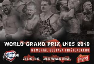 Memorial Gustava Frištenského, WORLD GRAND PRIX U105 2019